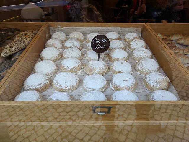 pao de deus (coconut pastries) @ Padaria do Bairro