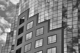 Building Reflection | by Mick Tursky