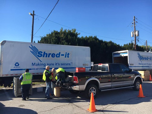 Shred-it Day (October 2018)