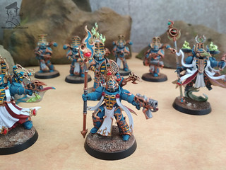 Thousand Sons - Rubic Marines and Sorcerers00006 | by Wargaming Mamas
