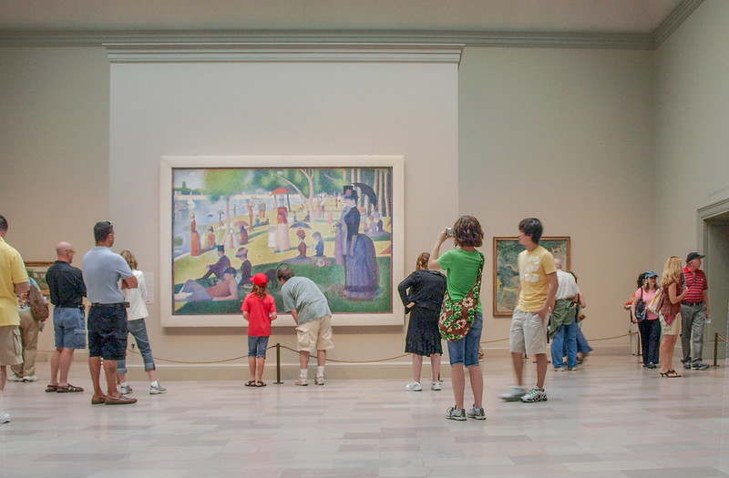 Which of these terms applies to georges seurat's sunday on la grande jatte