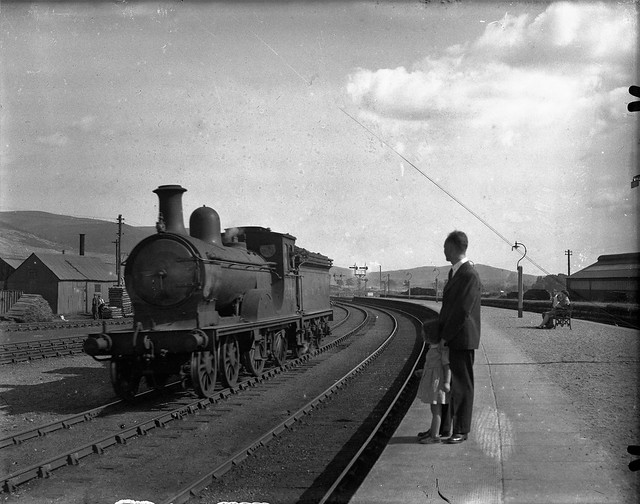 Ballater Railway Station, ca. 1950