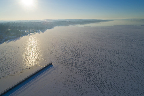 winter cold ice iced fish fishing skaneateles skaneateleslake frozen snow march sunrise flight flying aerialphotography aerial drone drones dji djiphantom4 2019 morning flx ny hats
