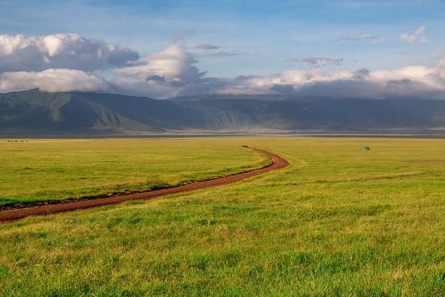 Daybreak in the Ngorongoro Crater