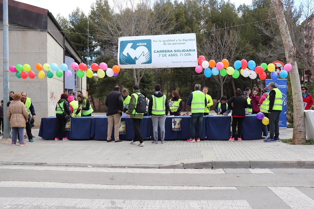 Carrera Solidaria Manos Unidas Teruel 7 abril 2019