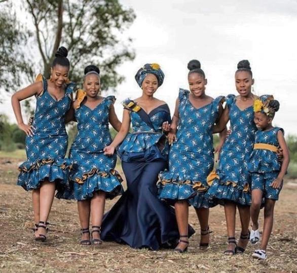 Stylish South African Shweshwe Dresses for Women
