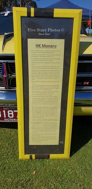 1968 Holden HK Monaro GTS