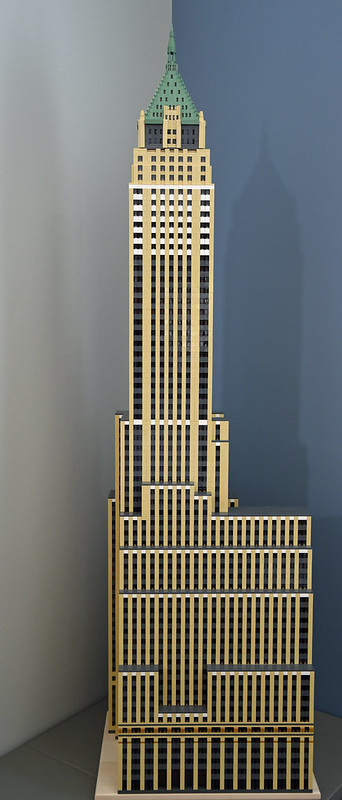 LEGO model of 40 Wall Street