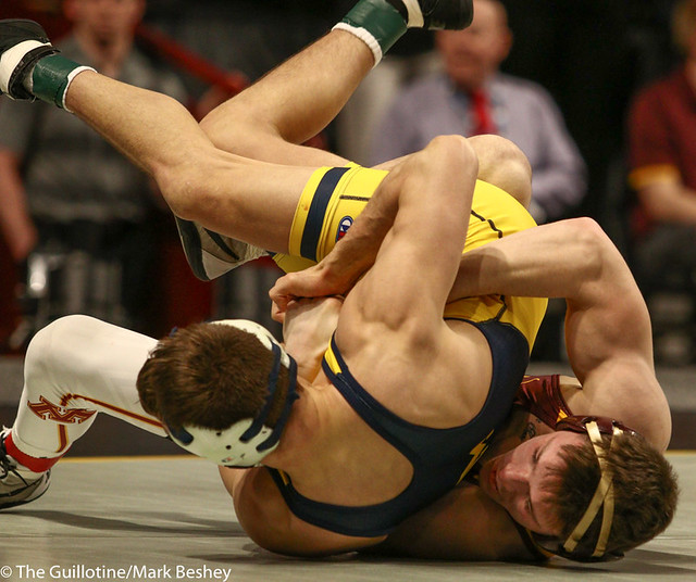 Cons. Semi - Mitch McKee (Minnesota) 20-5 won by decision over Kanen Storr (Michigan) 24-6 (Dec 12-6) - 190310cmk0035