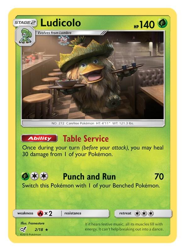 Pokémon TCG Detective Pikachu_Ludicolo