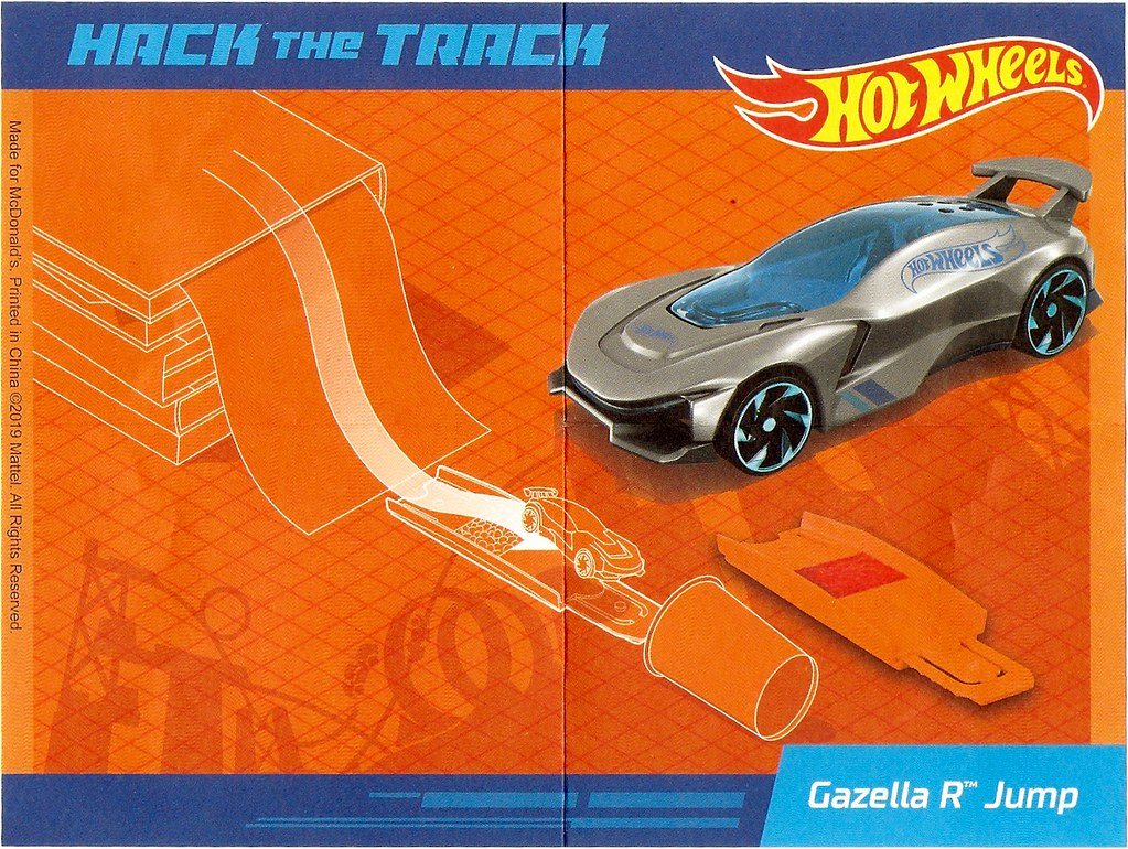 McDonald's Happy Meal Toys March 2019 Hot Wheels | Gazella R
