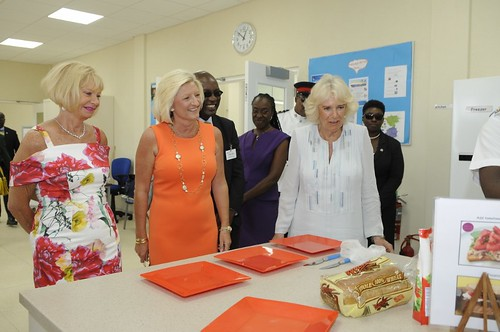 The Duchess of Cornwall visits The Derrick Smith School & Vocational Centre (7) | by barbadosgovernmentinformationservice