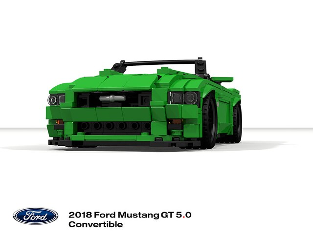Ford Mustang 2018 5.0 GT Convertible (S550MCA)