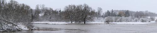 waterlooregion stjacobs ontario canada snow winter conestogariver