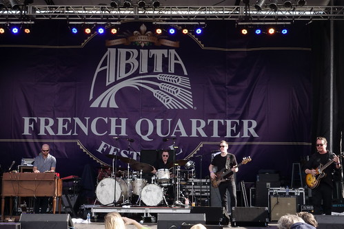 Galactic on Day 1 of French Quarter Fest - 4.11.19. Photo by Keith Hill.