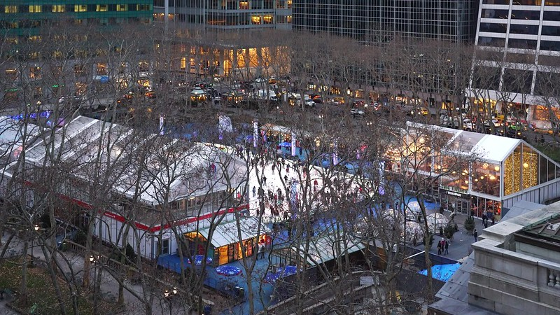 Bryant Park Skating 7x TL 012619 UHD with music