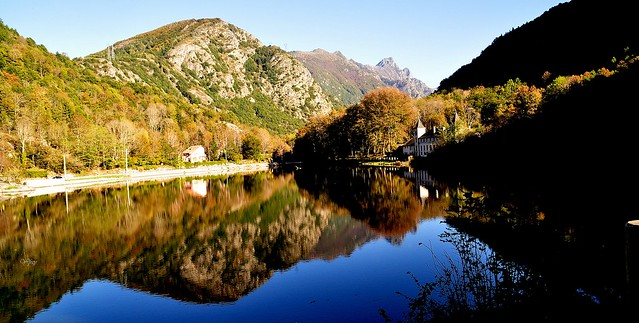 Lac de Campauleil Orgeix (Ariège)