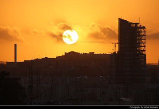 Sunset seen from Tigne Point, Sliema, Malta | by JH_1982
