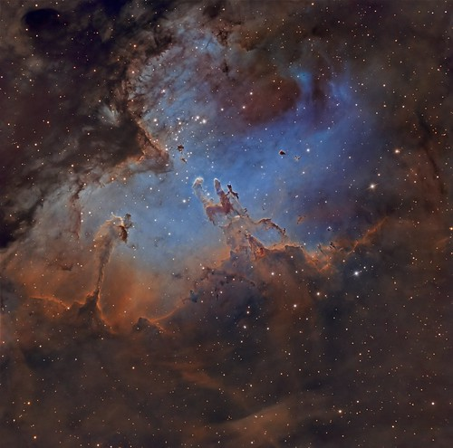 M16 The Eagle Nebula | by Paddy Gilliland @ Image The Universe