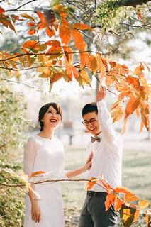 [美式婚紗]偉書 & 雅璽 / 戶外草地 | by weddingren