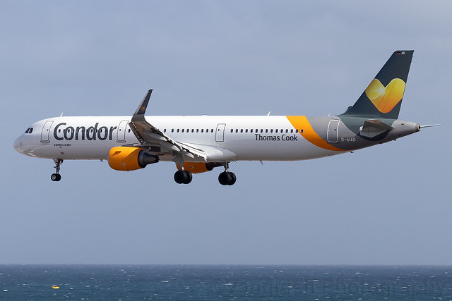 D-AIAD Condor Flugdienst A321 Arrecife Airport Lanzarote