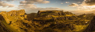 Panoramic view over the Quiraing, Isle of Skye, Scotland | by Anthony Lawlor