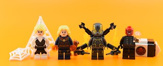 Marvel minifigs #15 : Brave girls and evil villains | by Alex THELEGOFAN