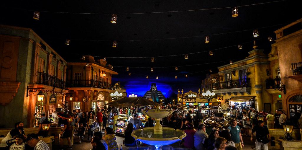 Mexico Pavilion inside Epcot