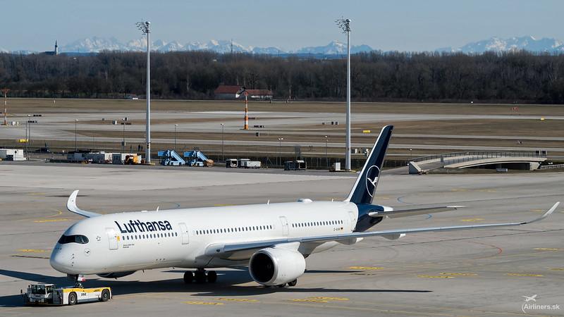 D-AIXK Lufthansa Airbus A350-941