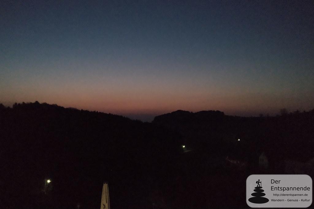 Sonnenaufgang bei Ussel
