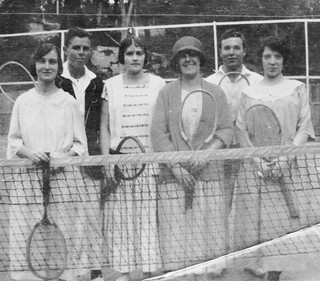 Anyone For Tennis 1920's Style?