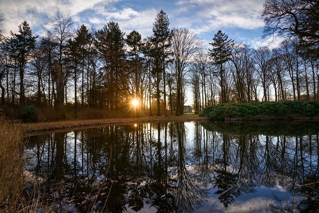Sunset in s'Graveland