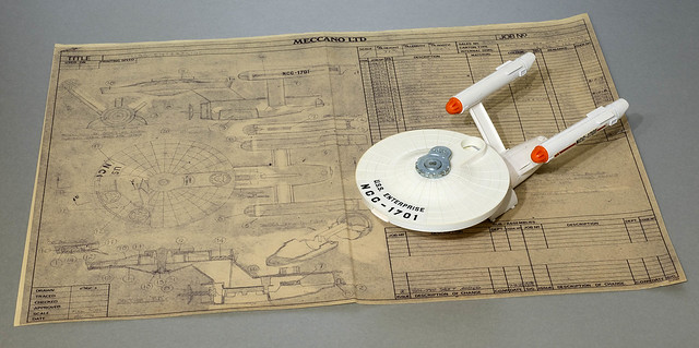 Dinky Toys No. 358 USS Enterprise and its origins way back in the universe of Liverpool