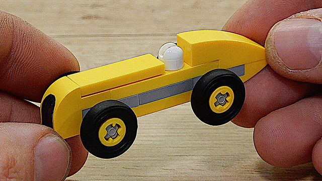 How to Build Lego Formula One (MOC - 4K)