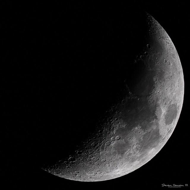 A Crisp Moon