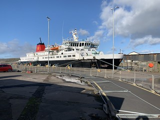 Hebridean Isles at Ardrossan standing in for the Caledonian Isles following the latter's disagreement with Brodick pier! | by md93
