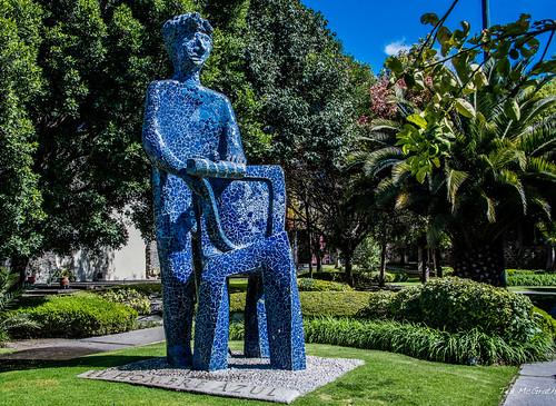 2018 - Mexico - Puebla - El Hombre Azul