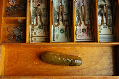 Pickle in the Cash Drawer | by Studio d'Xavier