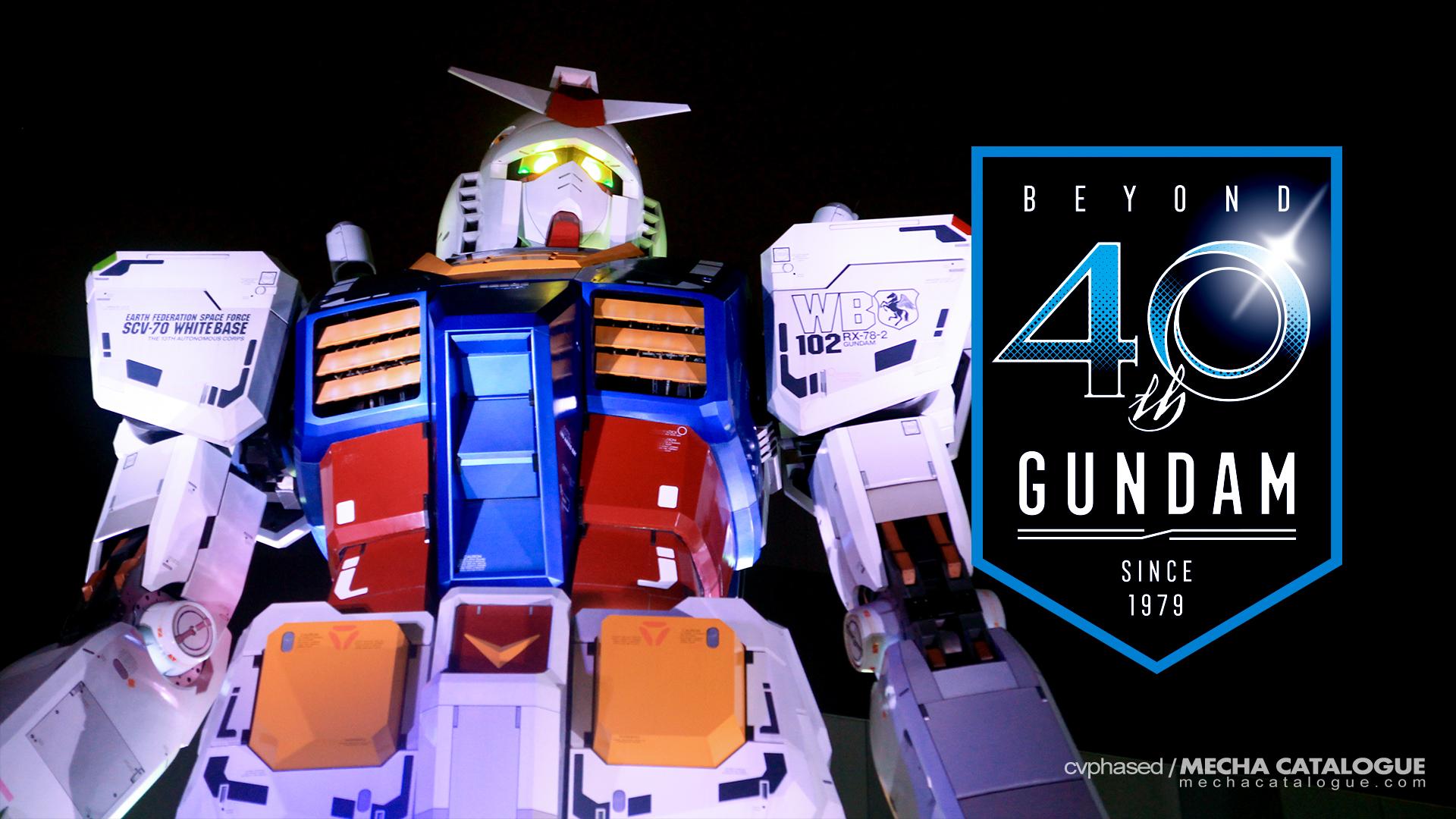 Happy 40th Gundam! #ガンダム40周年