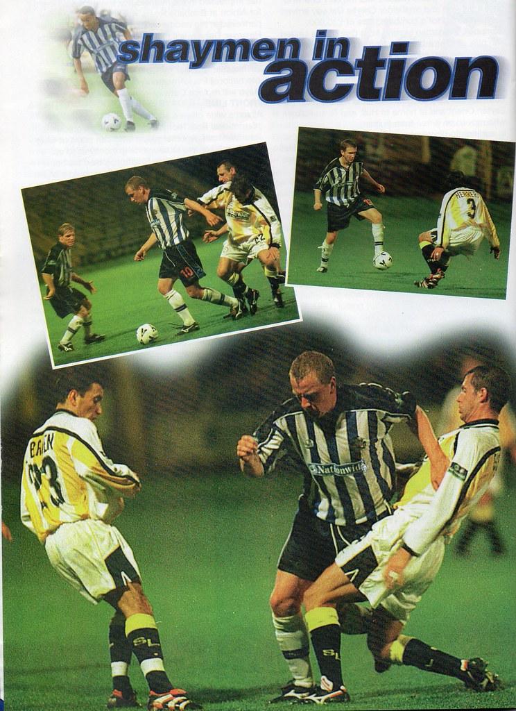 (Programme) 11-09-1999 Halifax Town 2-1 Brighton & Hove Albion 5