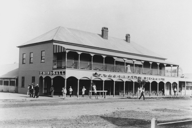 Tattersall's Hotel, Cunnamulla, ca. 1895