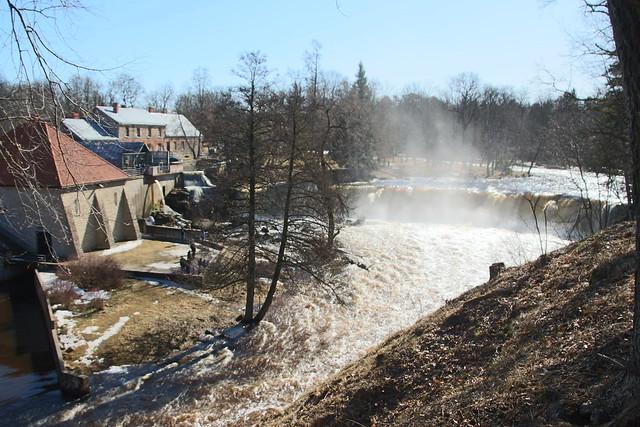 Keila juga / Keila waterfall in Estonia