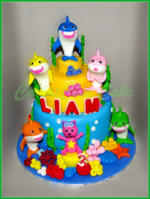 Cake Baby Shark LIAM 15 /12 cm