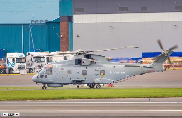 ZH846 Agusta-Westland Merlin HM.2 Prestwick Scotland 2019