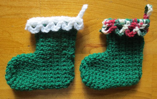 Loopy Mini Christmas Stockings