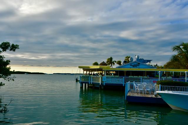 Waterfront restaurant in Islamorada, Florida