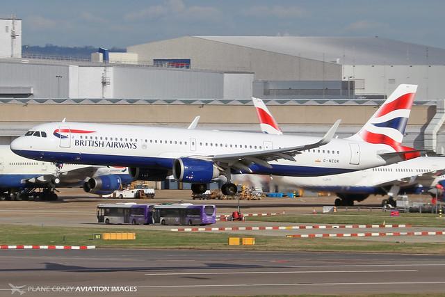 G-NEOR  -  Airbus A321-251NX  -  British Airways  -  LHR/EGLL 11-2-19