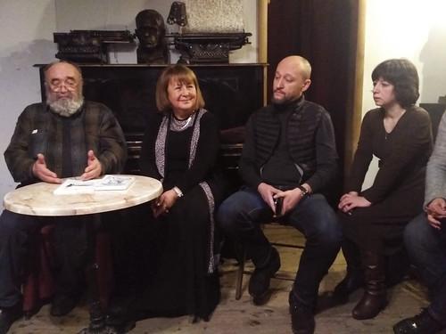 Фев 14 2019 - 19:10 - Слушатели ВЛК в Булгаковском доме. 14 февраля 2019 г.