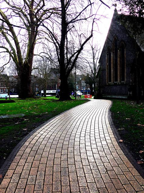 Wavy Path ..