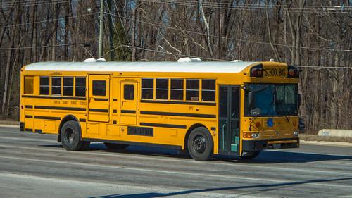 2003 Amtran RESB (rear engine school bus) | by NoVa Truck & Transport Photos